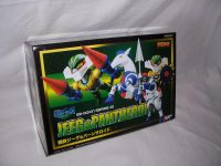 Jeeg and Pantheroid ES-Gokin