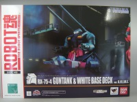 RX-75-4 Guntank & White Base Deck